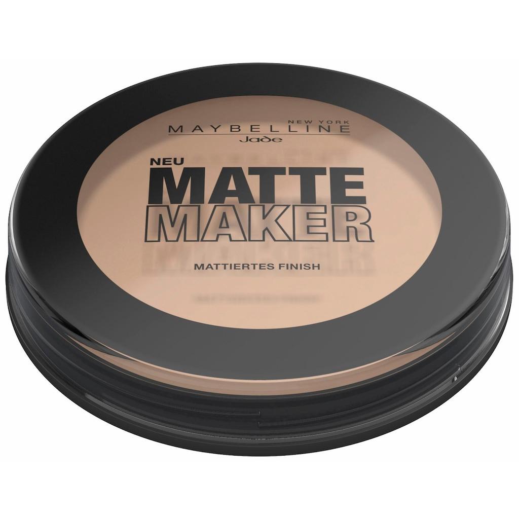 MAYBELLINE NEW YORK Puder »Matte Maker«