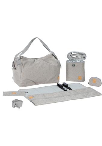 LÄSSIG Wickeltasche »Casual Twin Bag Triangle, Light Grey«, mit Rucksackfunktion und... kaufen