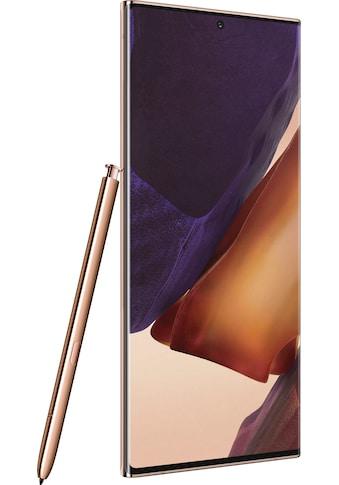 """Samsung Smartphone »Galaxy Note20 Ultra 5G«, (17,45 cm/6,9 """" 256 GB Speicherplatz, 108 MP Kamera), 3 Jahre Garantie kaufen"""
