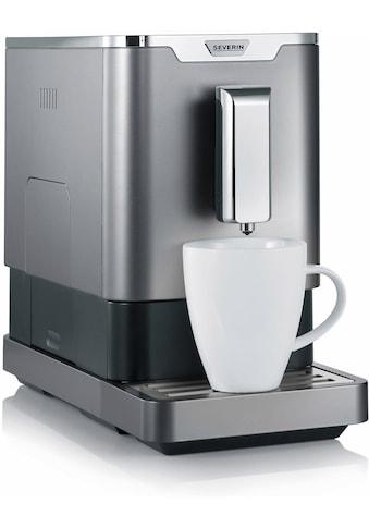 Severin Kaffeevollautomat KV 8090, 1,1l Tank, Kegelmahlwerk kaufen