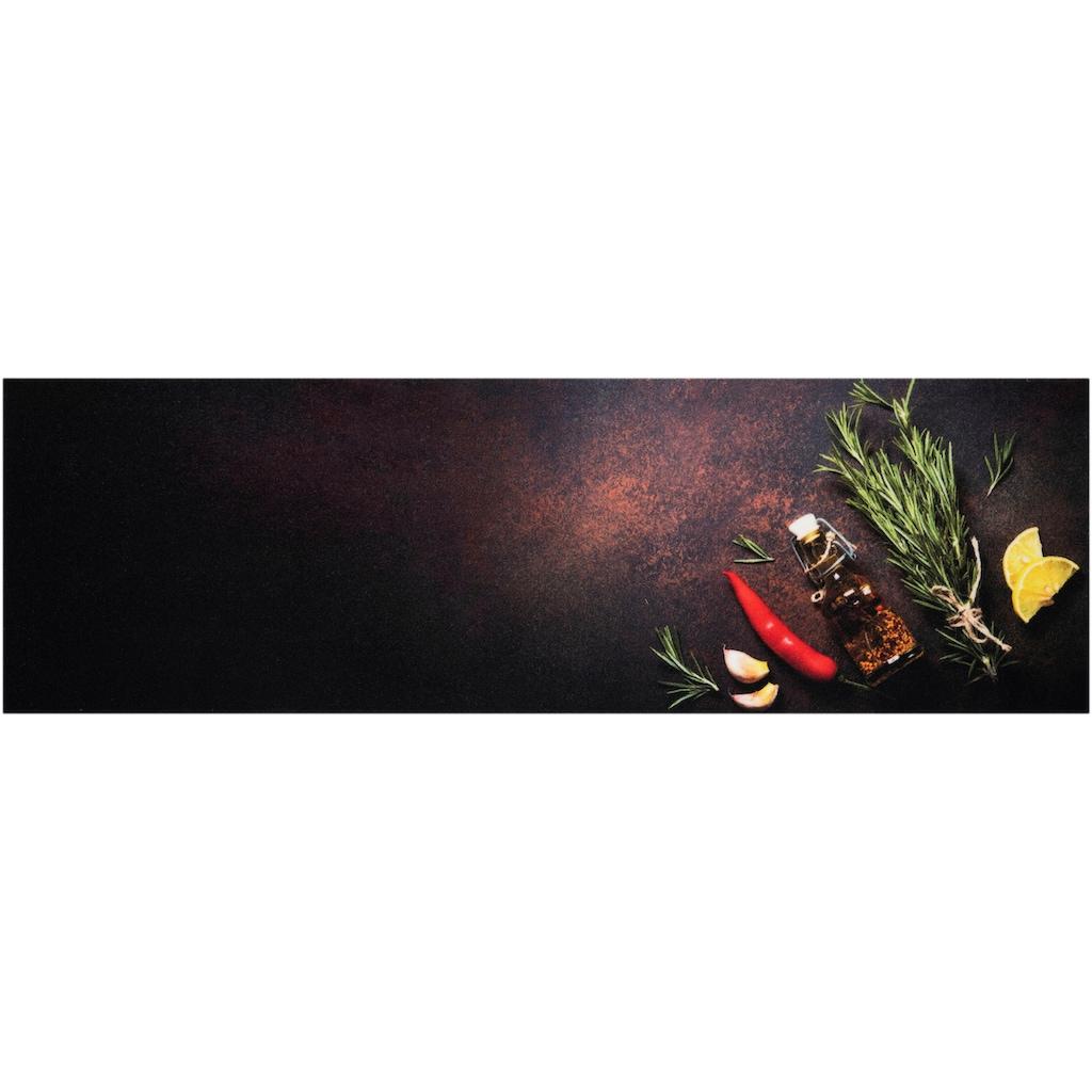 Zala Living Küchenläufer »Kitchen Spices«, rechteckig, 5 mm Höhe, rutschhemmend, waschbar