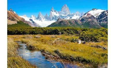 Papermoon Fototapete »Berge in Patagonien«, Vliestapete, hochwertiger Digitaldruck kaufen