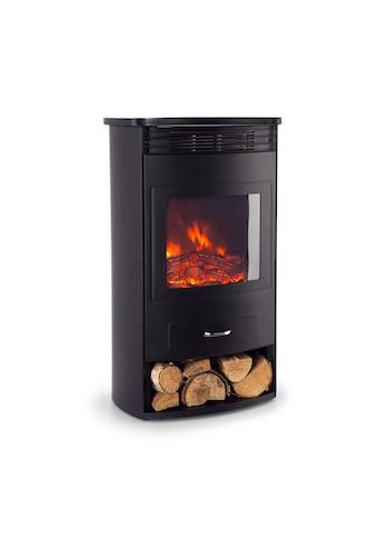 Klarstein Elektrischer Kamin 950/1900W Thermostat Wochentimer schwarz »Bormio« kaufen