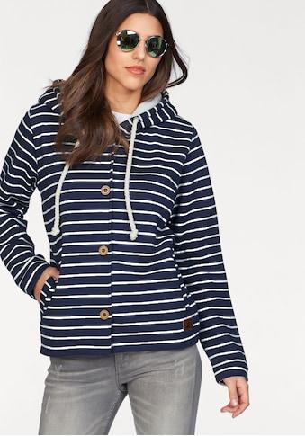 Ocean Sportswear Kapuzensweatjacke, im maritimen Streifenlook kaufen