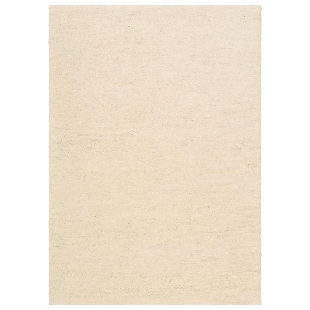 Leonique Wollteppich »Punam«, rechteckig, 28 mm Höhe, reine Wolle, echter Berber, handgeknüpft, Wohnzimmer