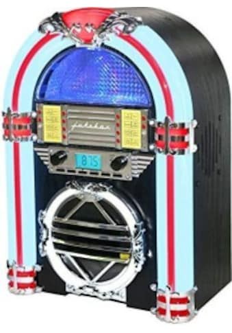 Silva Schneider Retro-Radio »Jukebox 66«, (Bluetooth-CD UKW mit RDS 10 W) kaufen
