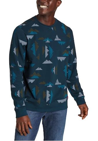 Eddie Bauer Sweatshirt, Camp Fleece - Bedruckt kaufen