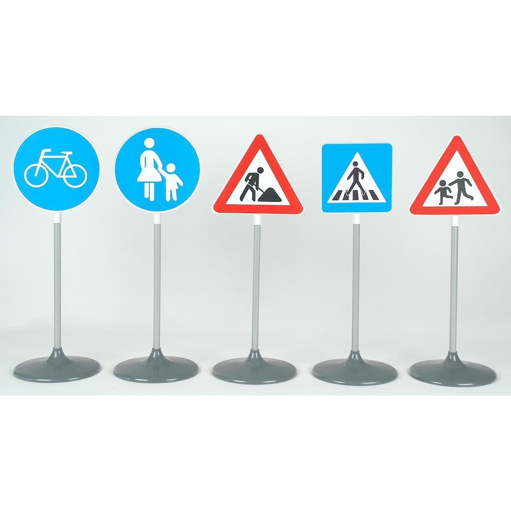 Klein Spiel-Verkehrszeichen »Verkehrsschilder-Set B, 5 Schilder«, Made in Germany