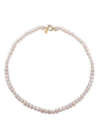 AILORIA Perlenkette »SORANO gold/weiße Perle«, 925 Sterling Silber vergoldet... kaufen