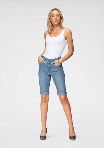 Arizona Jeansbermudas »im Paperbag-Style«, High Waist kaufen