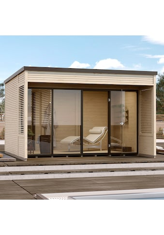 WEKA Gartenhaus »Cubilis 2.0 Gr.1«, BxT: 388x394 cm kaufen