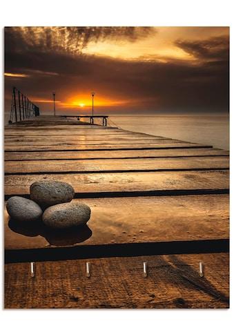 Artland Schlüsselbrett »Sonnenaufgang am Schwarzen Meer« kaufen