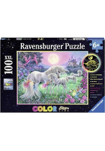 """Ravensburger Puzzle """"Color Star Line, Einhörner im Mondschein"""" kaufen"""