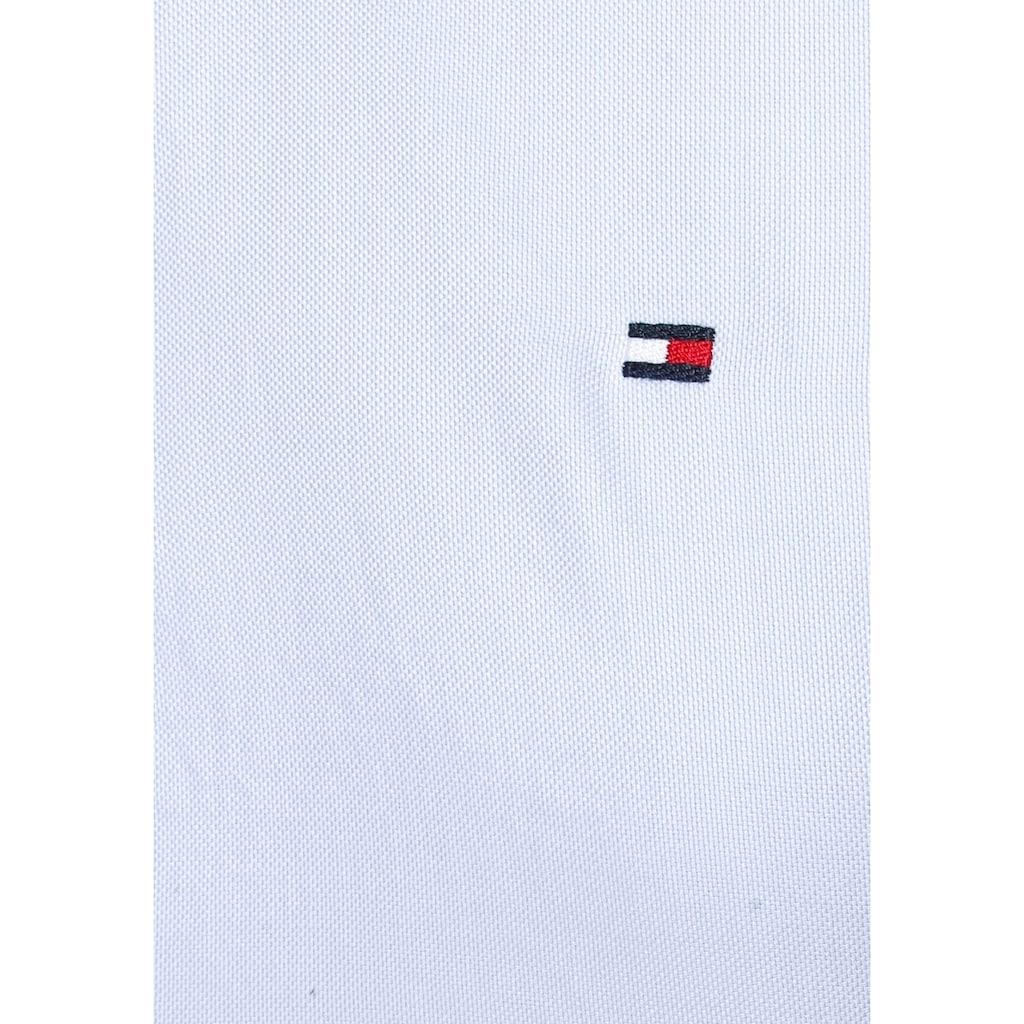 Tommy Hilfiger Hemdbluse »HERITAGE REGULAR FIT SHIRT«, in hochwertiger Oxford Qualität mit Tommy Hilfiger Logo-Flag