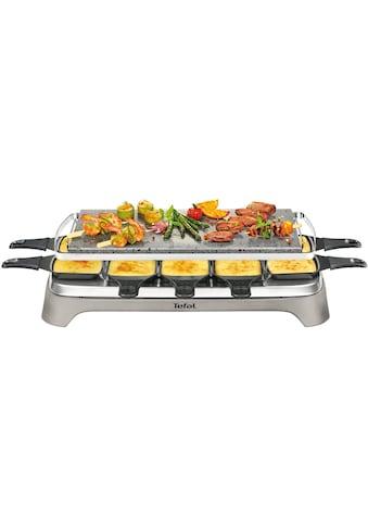 Tefal Raclette »Pierrade PR457B«, 10 St. Raclettepfännchen, 1350 W, Grill-Platte aus Stein kaufen