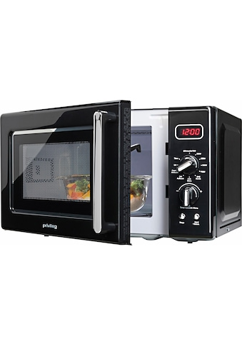 Privileg Mikrowelle »364354«, Grill, 700 W, im Retro-Design, 8 Automatikprogramme kaufen