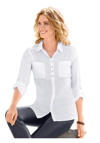 Classic Inspirationen Bluse mit Hemdkragen kaufen