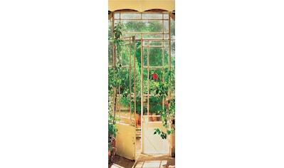 PAPERMOON Fototapete »Pezenas Door  -  Türtapete«, Vlies, 2 Bahnen, 90 x 200 cm kaufen