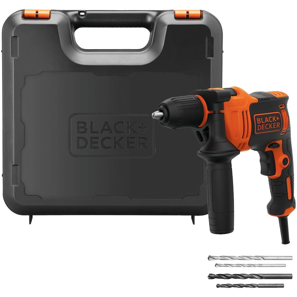 Black + Decker Schlagbohrmaschine, ohne Akku