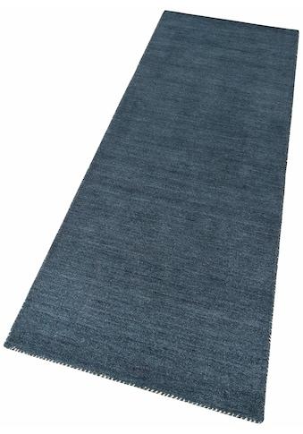 Theko Exklusiv Läufer »Gabbeh uni«, rechteckig, 15 mm Höhe kaufen