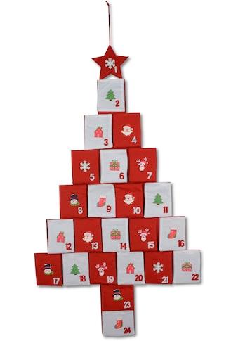 """befüllbarer Adventskalender """"Baum"""" kaufen"""