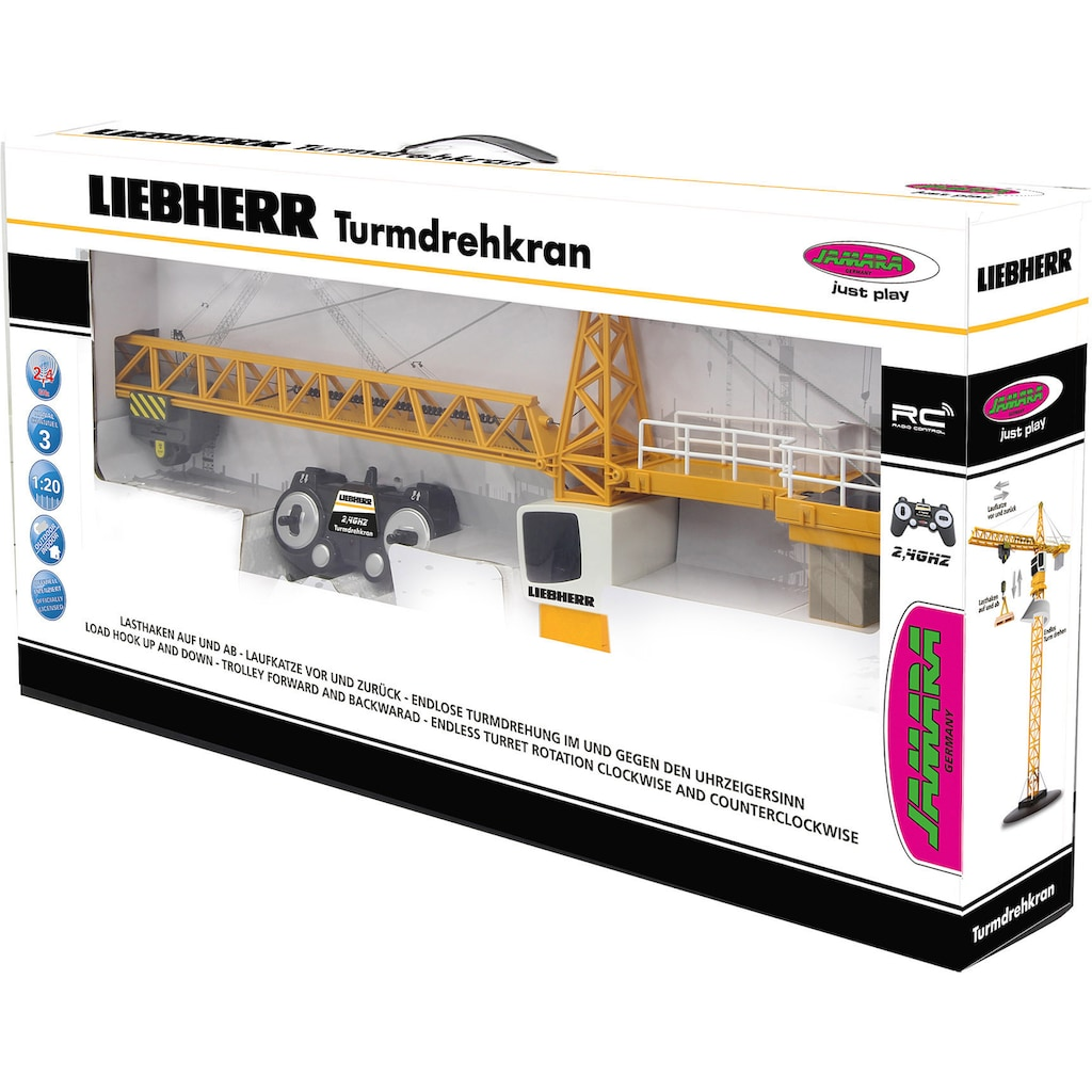 Jamara RC-Kran »Liebherr Turmdrehkran«