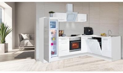 RESPEKTA Winkelküche »RP260«, mit E - Geräten, Breite 260 cm kaufen