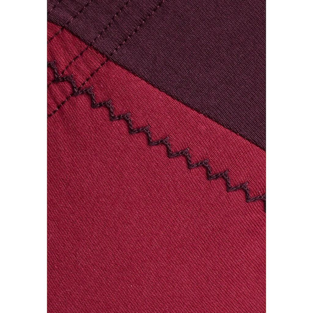 le jogger® Slip, (6 St.), schöner Basic in schönen Farbkombinationen