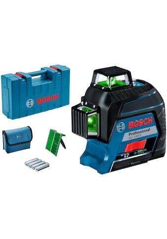 Bosch Professional Linienlaser »GLL 3-80 G Professional«, Messbereich: 30m kaufen