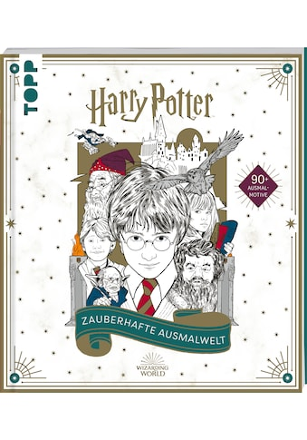 Buch »Harry Potter - Zauberhafte Ausmalwelt / Frechverlag« kaufen