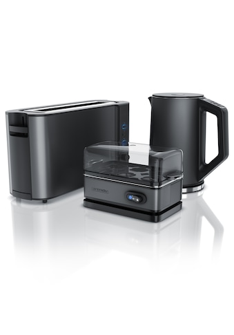 Arendo Frühstücks-Set »Wasserkocher / Langschlitz Toaster / Eierkocher« kaufen