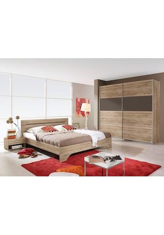 rauch BLUE Schlafzimmer-Set »Rubi«, (Set, 4 St.), mit Schrank, Bett 180x200 cm und 2... kaufen