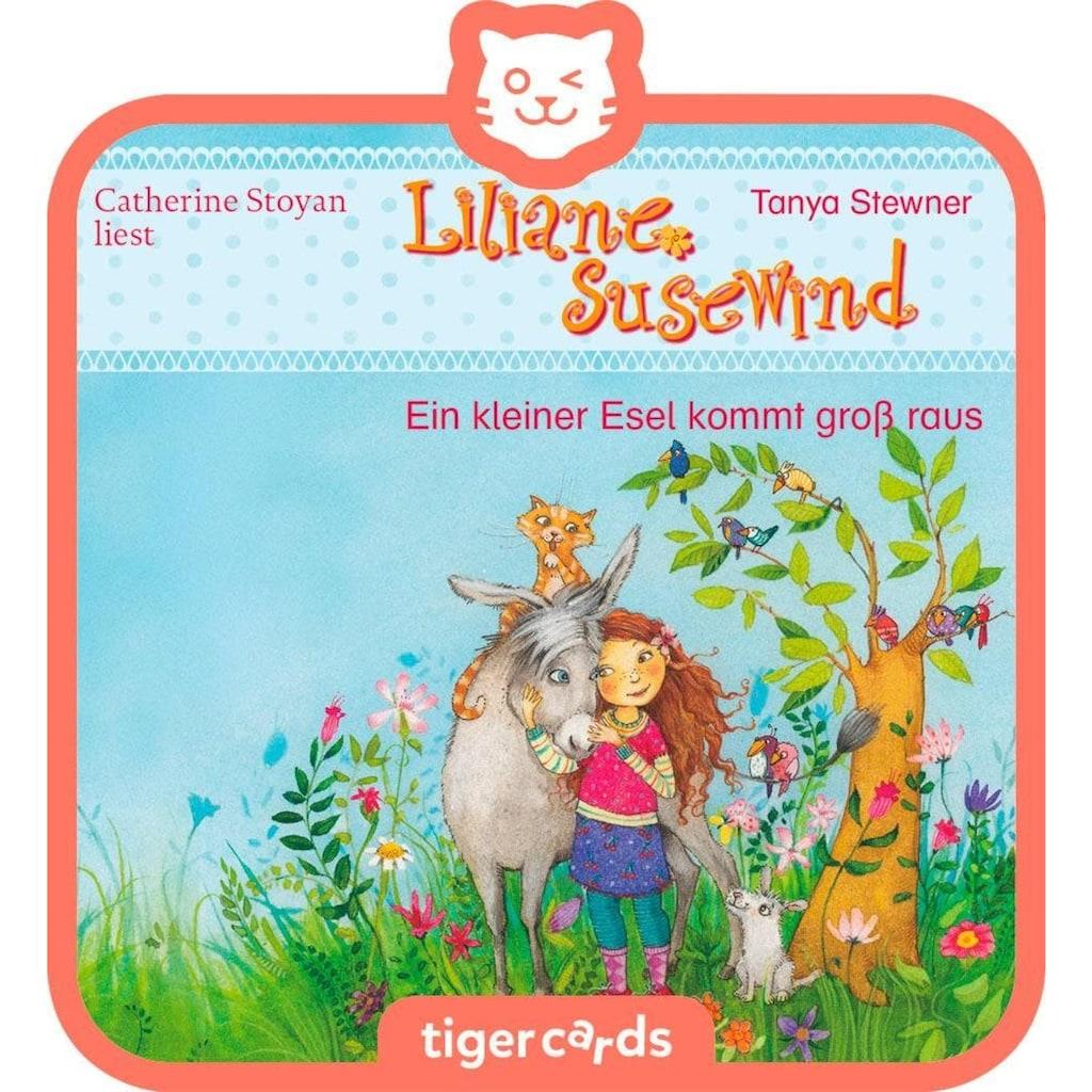 tigerbox Hörspiel »Liliane Susewind - Ein kleiner Esel kommt groß raus«