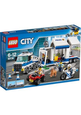 """LEGO® Konstruktionsspielsteine """"Mobile Einsatzzentrale (60139), LEGO® City"""", (374 - tlg.) kaufen"""