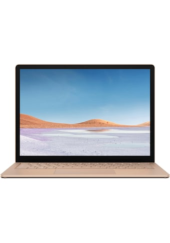 Microsoft Surface Laptop 3 i5 13,5 8GB / 256GB Sandstein Notebook (34 cm / 13,5 Zoll, Intel,Core i5, 256 GB SSD) kaufen