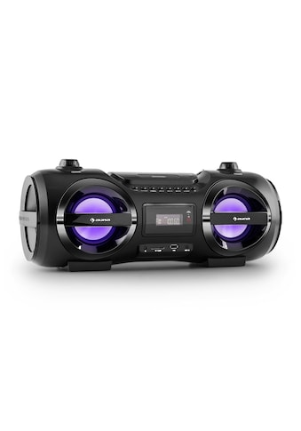 Auna Mobile Boombox Bluetooth Lautsprecher CD Player MP3 USB UKW LED »Soundblaster M« kaufen