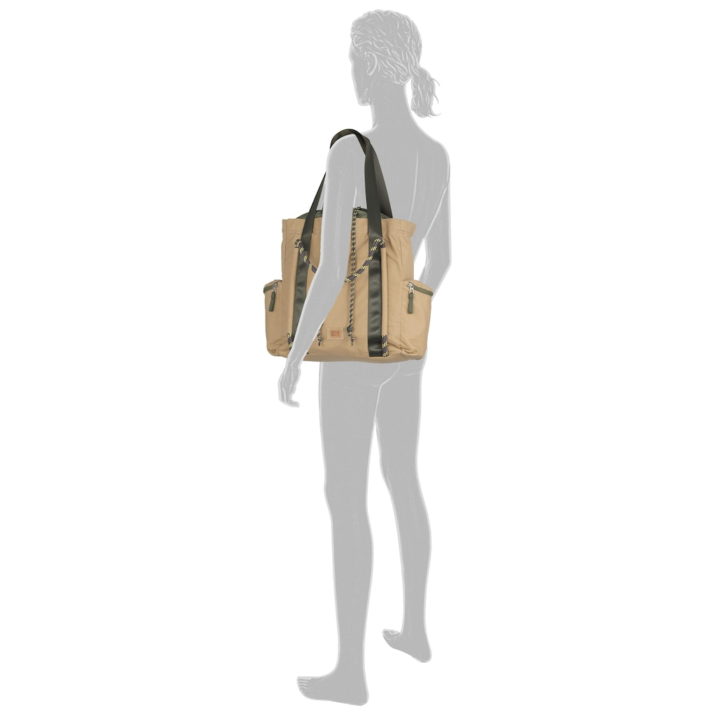 camel active Shopper »Maribel«, Mit schicken Kordeldetails
