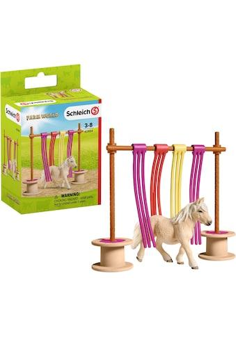 Schleich® Spielfigur »Farm World, Pony Flattervorhang (42484)« kaufen