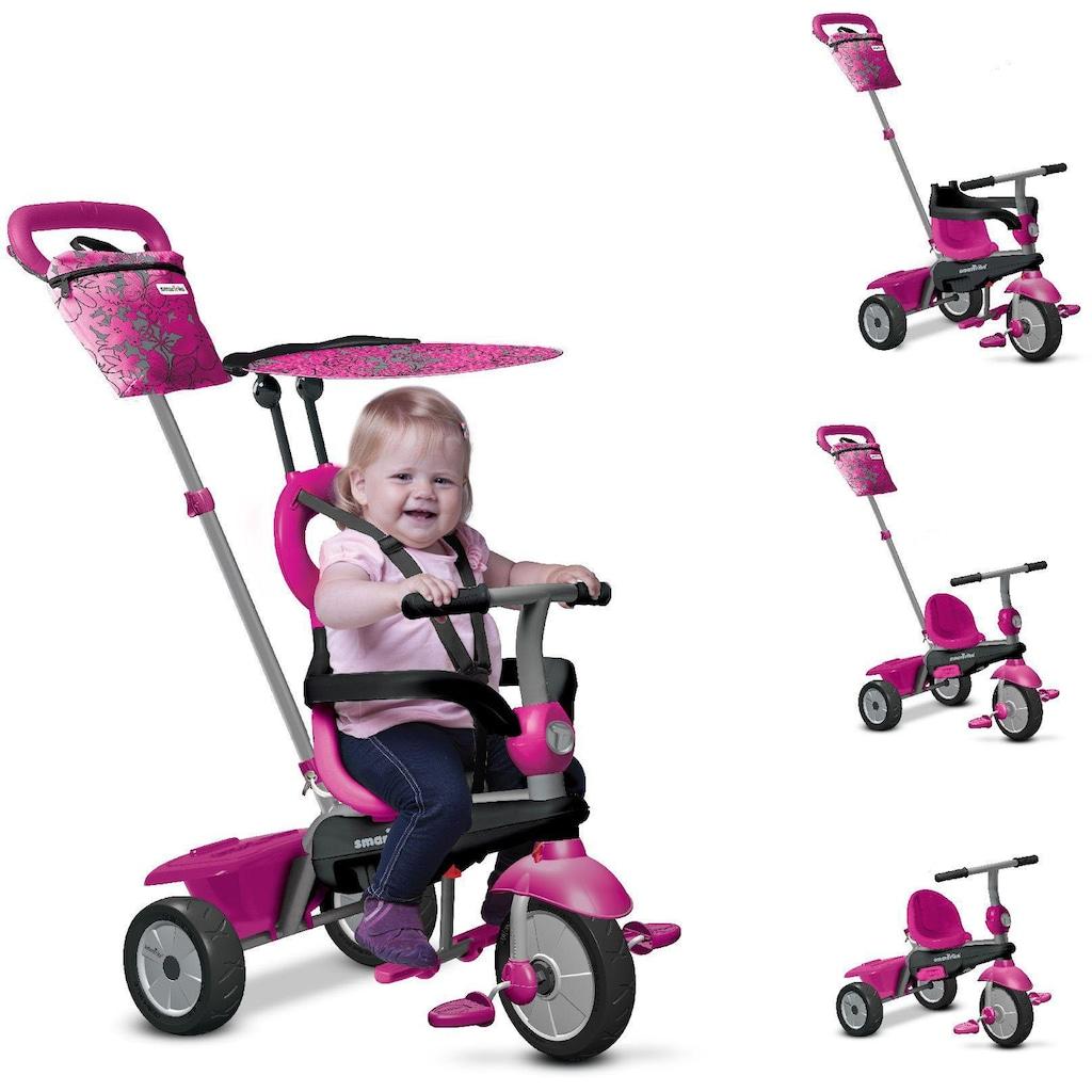 smarTrike® Dreirad »Vanilla, pink«, mit Sonnenschutzdach