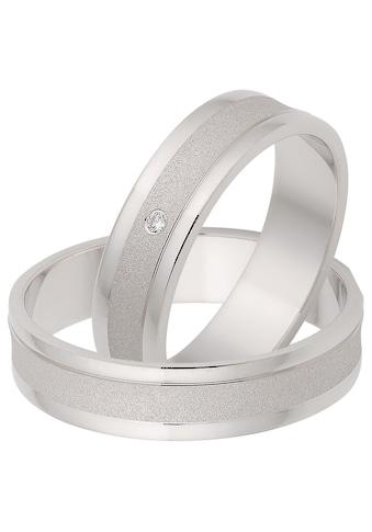 Firetti Trauring mit Gravur »glanz, sandmatt, Diamantschnitt, 5,0 mm breit«, Made in... kaufen