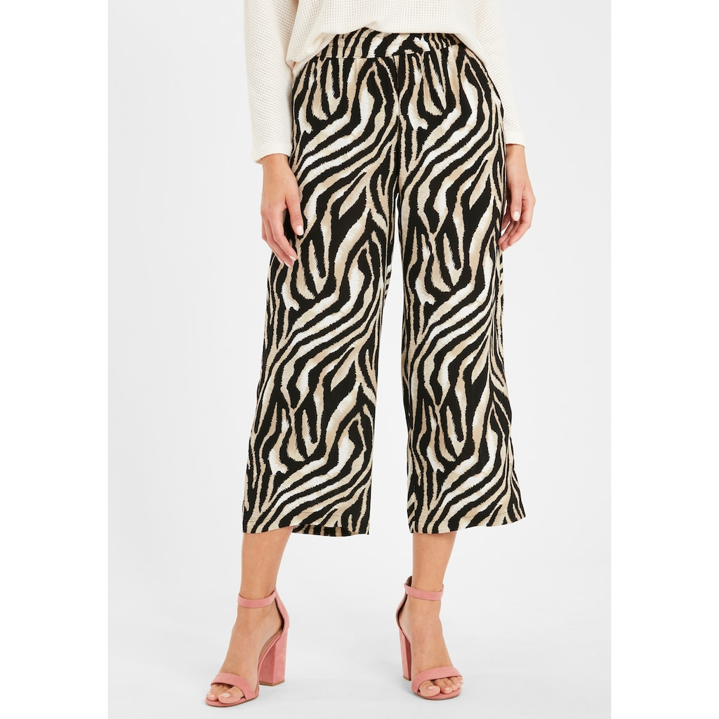 b.young Stoffhose »BYISOLE CROPPED«, Stoffhose
