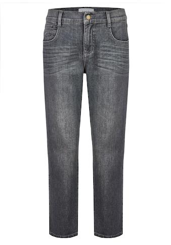 ANGELS Jeans 'Straight' mit ausgefranstem Saum kaufen