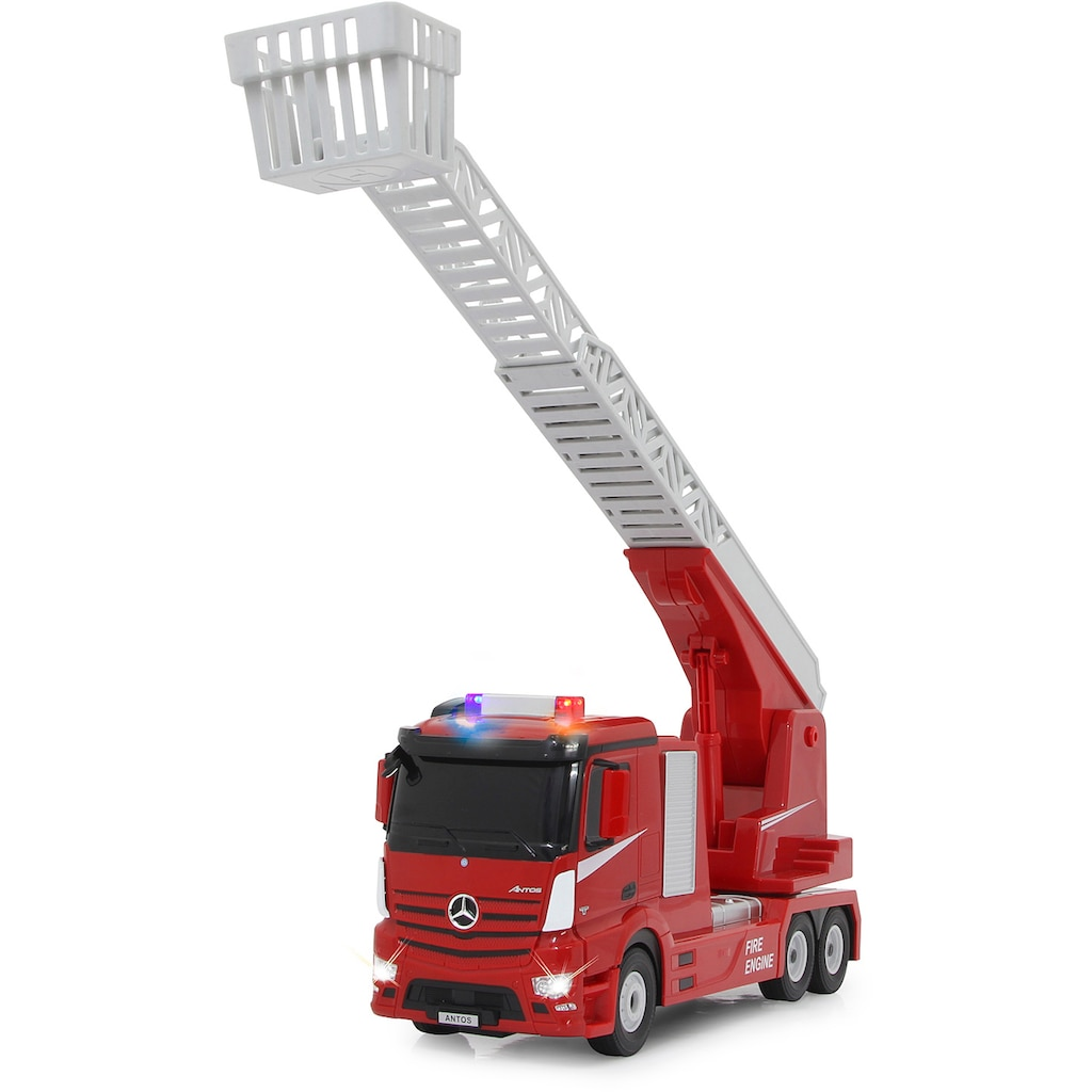 Jamara RC-LKW »Feuerwehr Drehleiter 1:24 2,4 GHz«, mit Licht und Sound