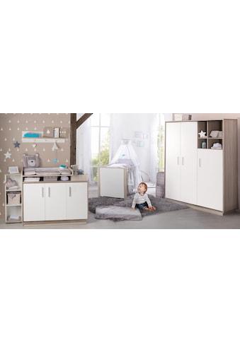 roba® Babyzimmer-Komplettset »Olaf«, (Set, 3 St.), mit Kinderbett, Schrank und... kaufen