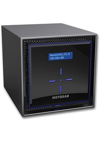 NETGEAR ReadyNAS 424 4 - bay »High Performance Storage für kleine Unternehmen« kaufen