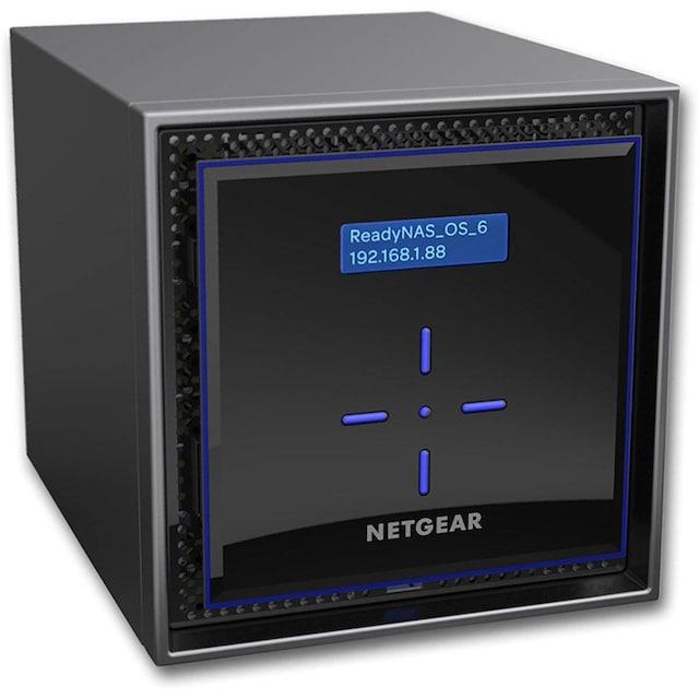 NETGEAR ReadyNAS 424 4-bay »High Performance Storage für kleine Unternehmen«