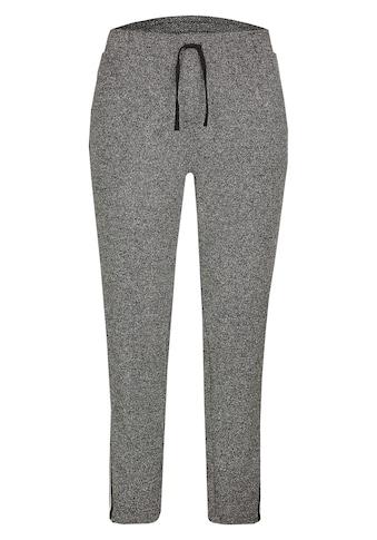VIA APPIA DUE Sportive Hose mit Galon - Streifen Plus Size kaufen
