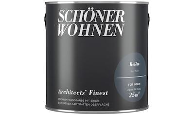 SCHÖNER WOHNEN-Kollektion Wand- und Deckenfarbe »Architects' Finest - Belém«, 2 l kaufen