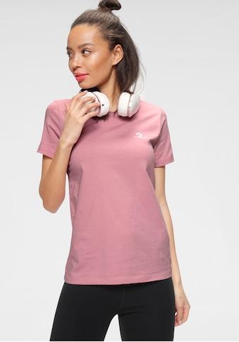 Converse T - Shirt »EMBROIDERED STAR CHEVRON LEFT CHEST TEE« kaufen