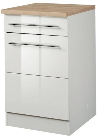 HELD MÖBEL Unterschrank »Wien«, Breite 50 cm, mit 1 Tür und 1 Schubkasten kaufen